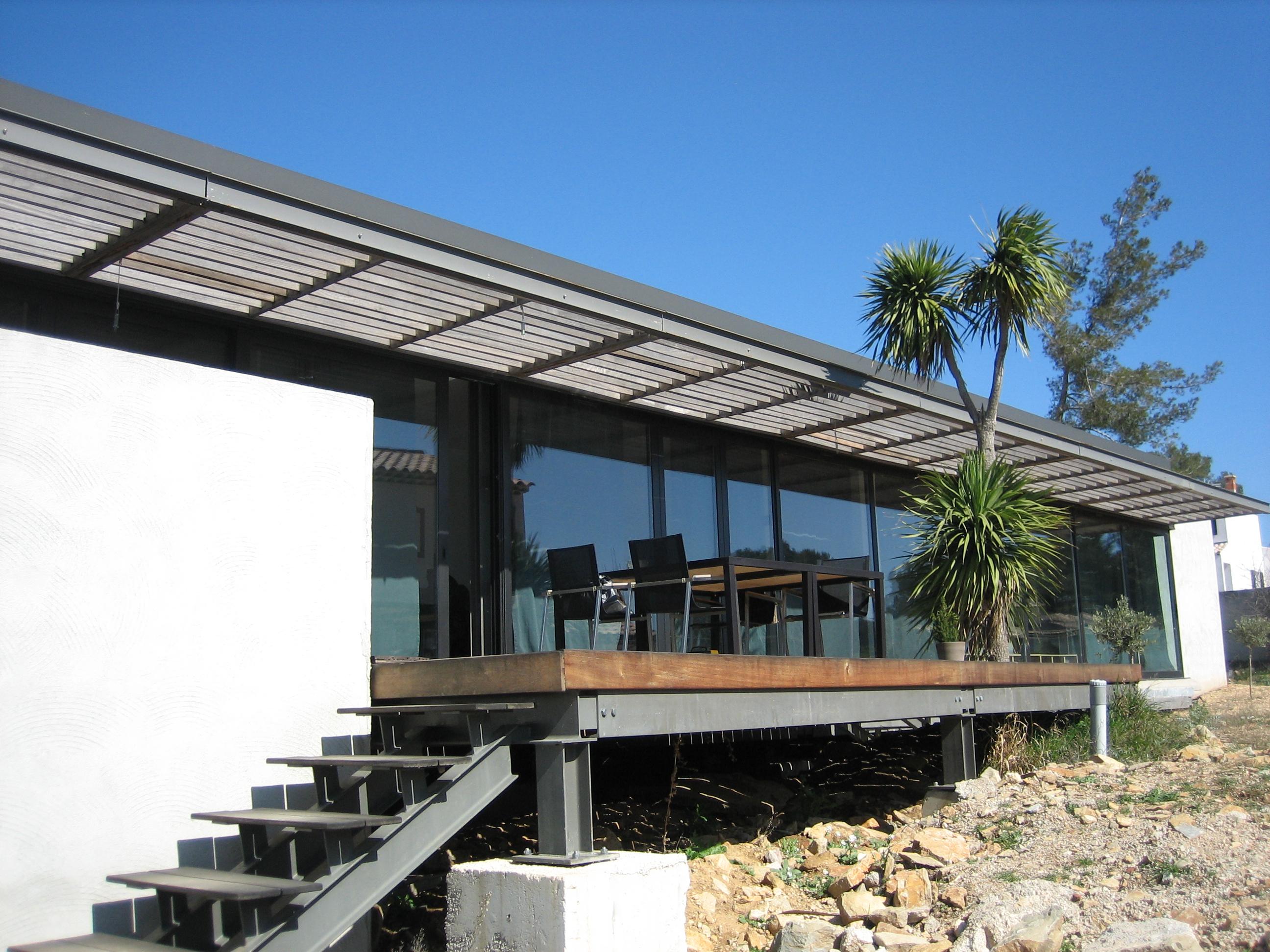 fa ades vitr es aluminium technic habitat aix marseille aubagne. Black Bedroom Furniture Sets. Home Design Ideas