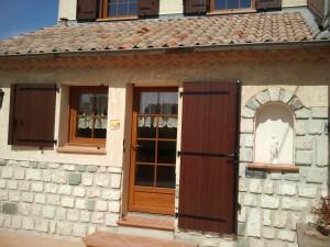 Portes d 39 entr e pvc vitr es technic habitat marseille - Portes d entree vitrees ...