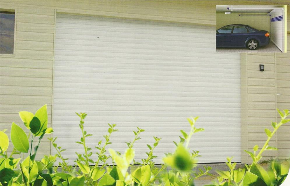 Porte de garage refoulement plafond technic habitat - Porte de garage a refoulement plafond ...