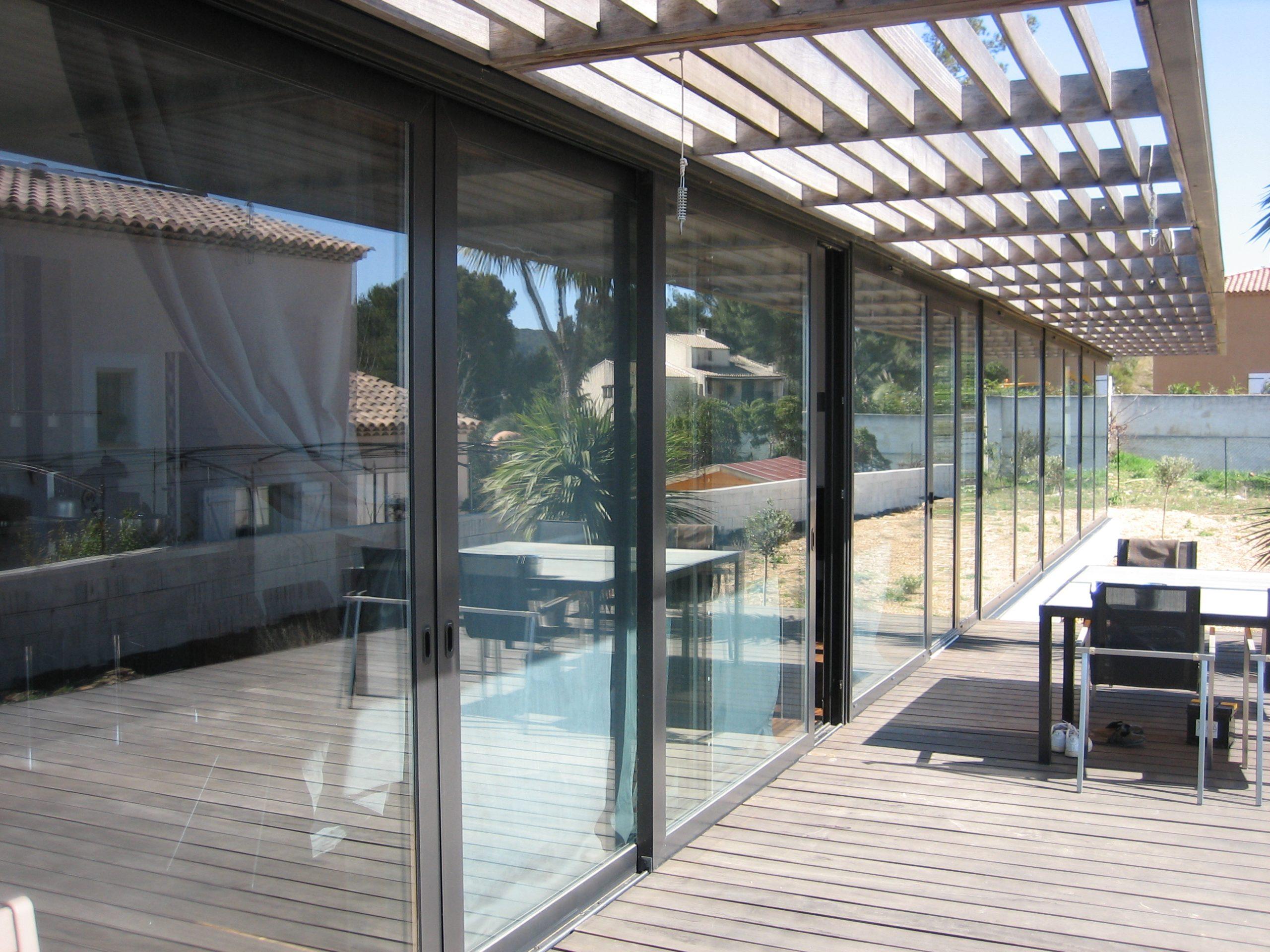 Façades vitrées aluminium Aubagne Marseille