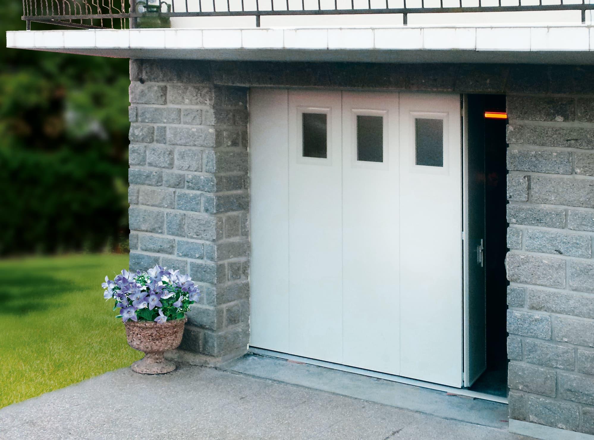 Portes de garage marseille aubagne technic habitat for Porte de garage coulissante motorisee lapeyre