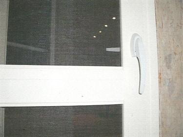 Porte moustiquaire ouvrante
