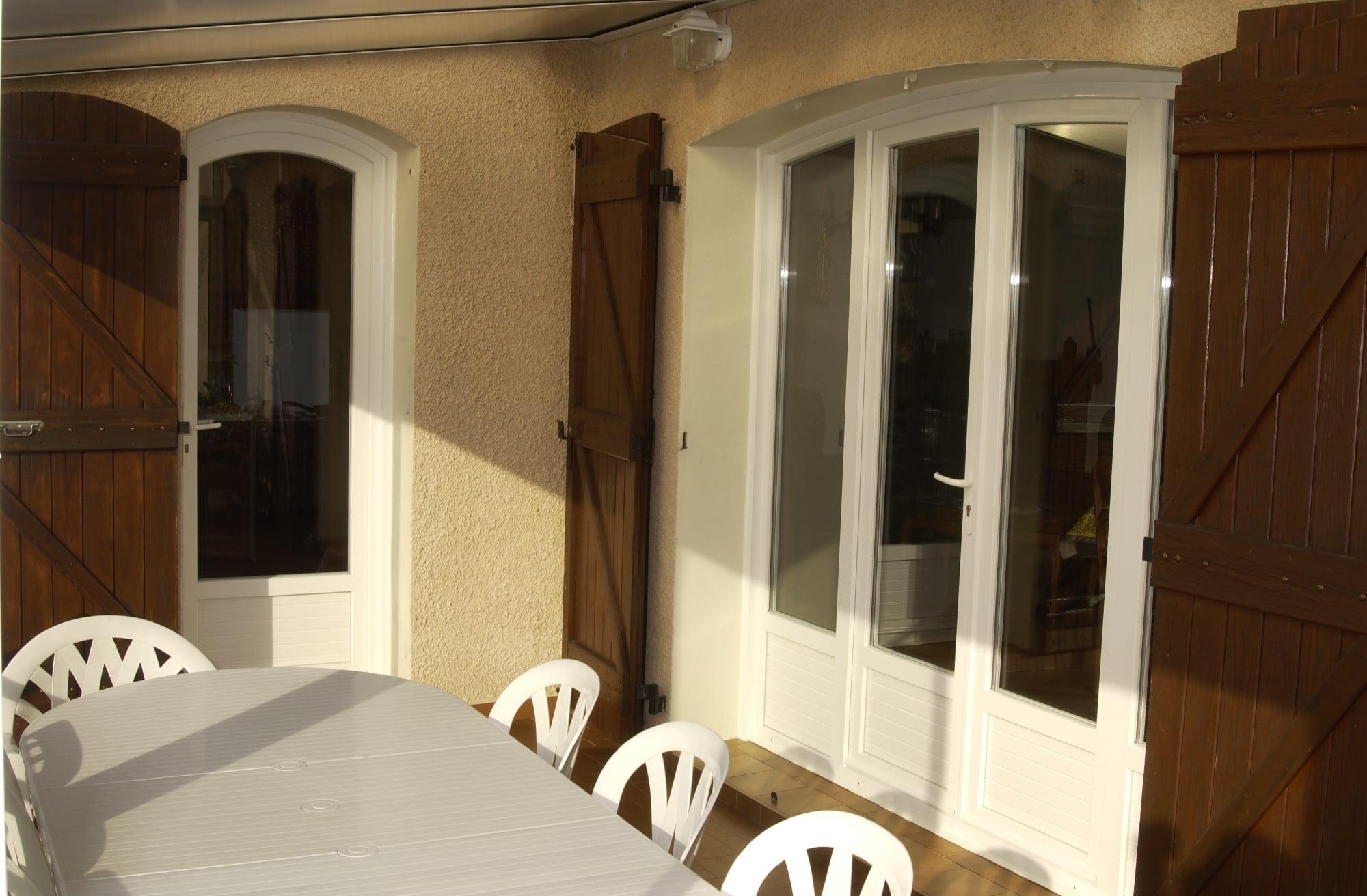 Fenêtre ouvrante à 2 vantaux PVC