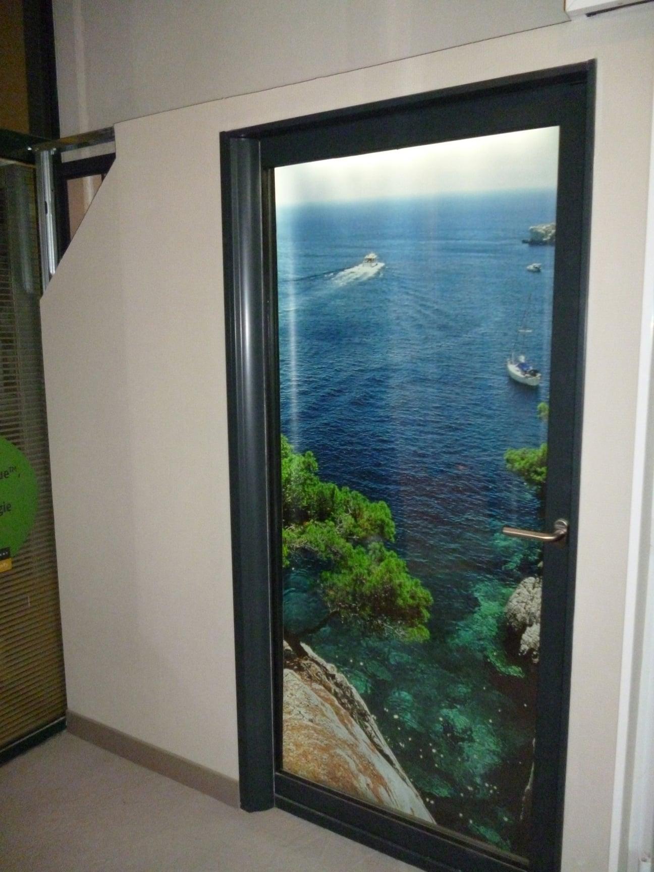 Porte Fenêtre Alu à Galandage Ass39sc Marseille Technic Habitat