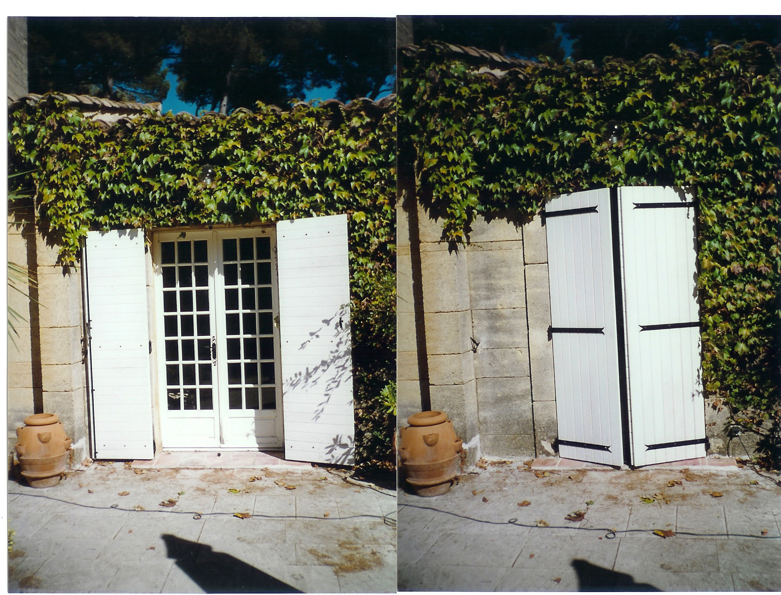 volet battant bois provencal doubl aubagne technic habitat. Black Bedroom Furniture Sets. Home Design Ideas