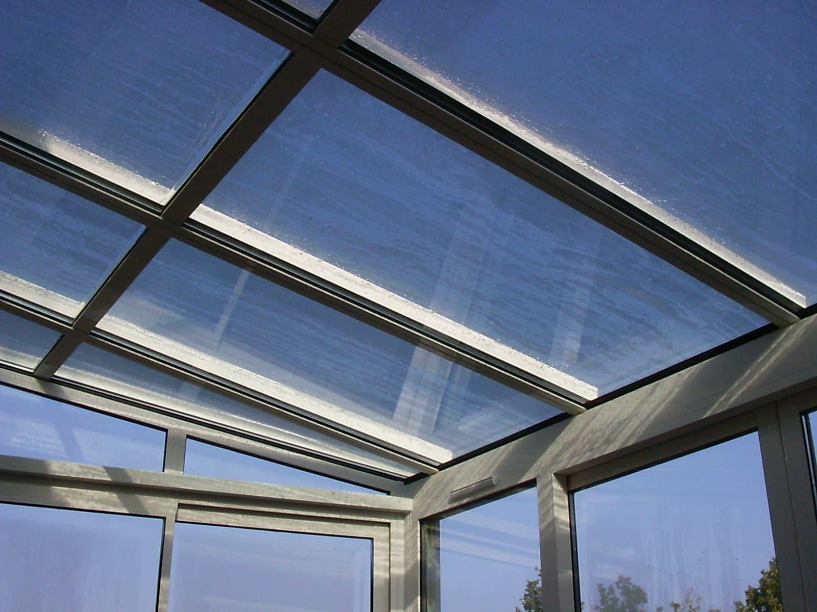 Véranda Alu Toiture vitrée Aluminium