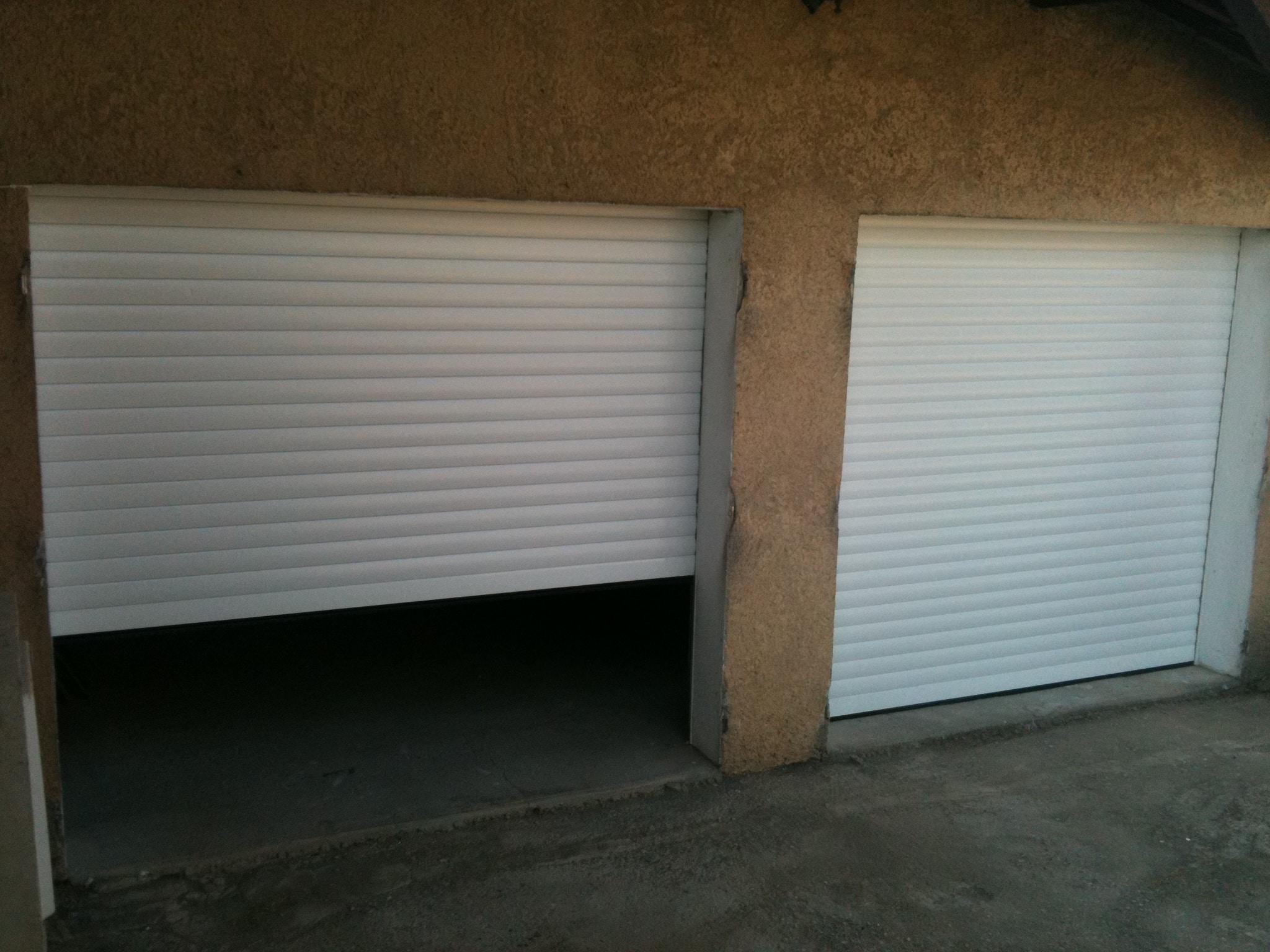 Volet roulant garage