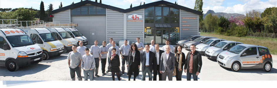 Agence Technic-habitat Marseille Aubagne menuiserie, stores, fermetures, vérandas