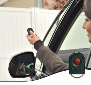Somfy portail aluminium motorisé distance télécommande