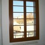 Fenêtre PVC faux bois
