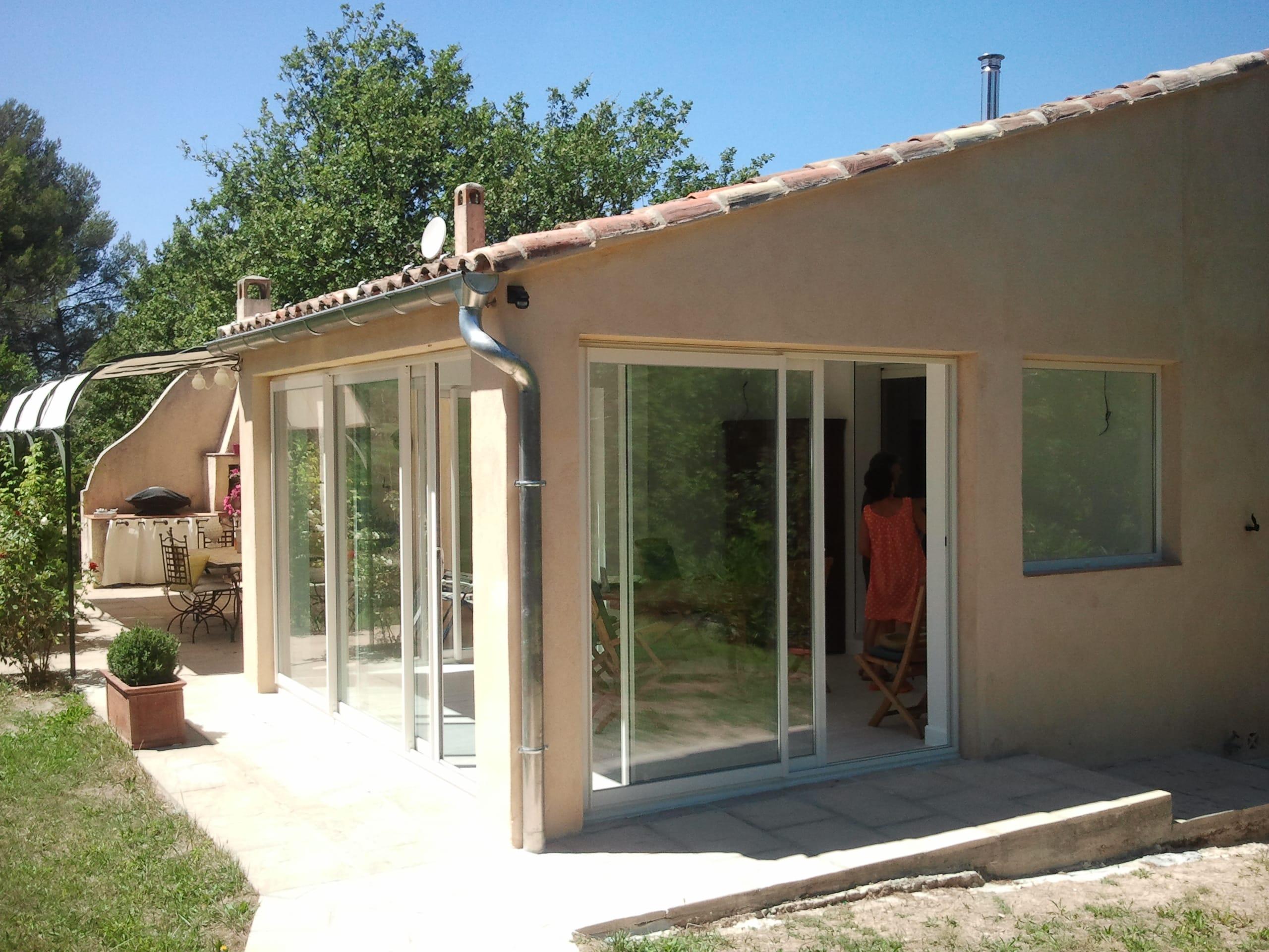 Fermeture terrasse couverte Aubagne - Technic Habitat