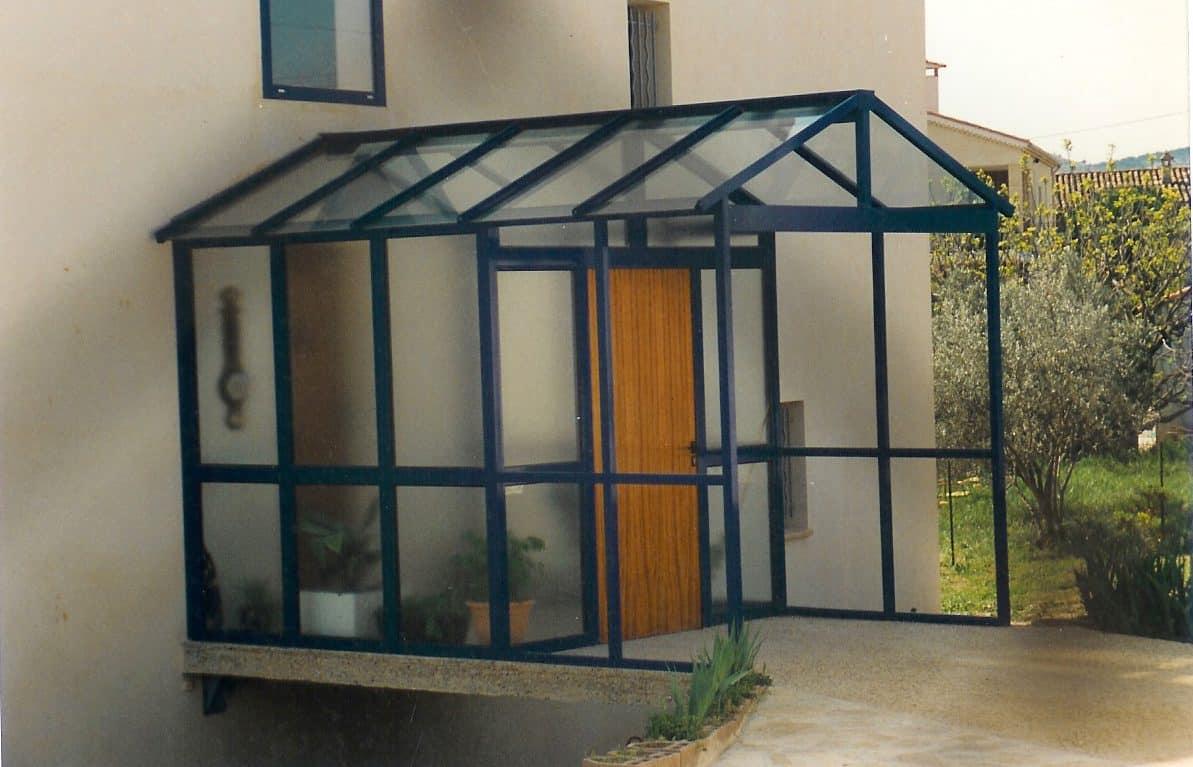 Sas D Entrée Interieur sas d'entrée aluminium marseille - technic habitat