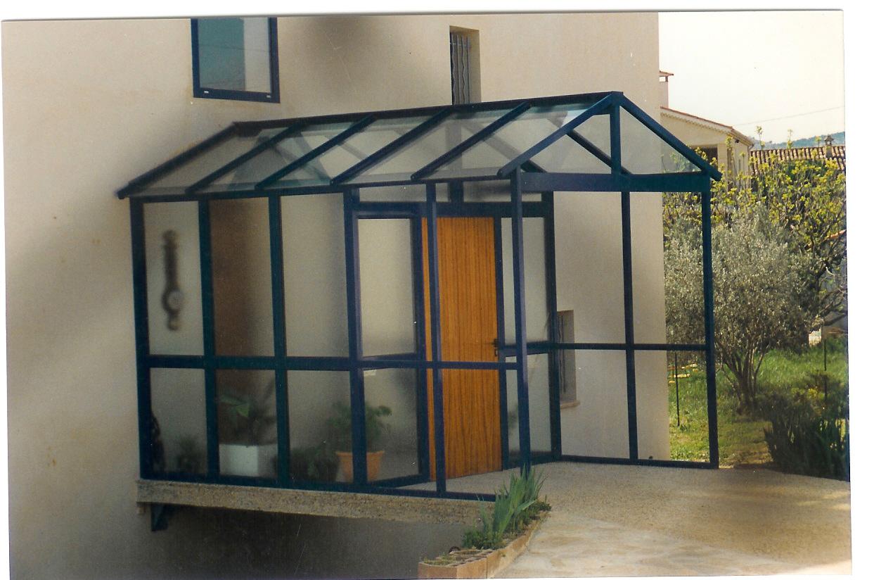 sas d 39 entr e aluminium marseille technic habitat. Black Bedroom Furniture Sets. Home Design Ideas