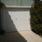 Porte de garage battante 4 vantaux