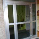 porte d'immeuble aluminium 1