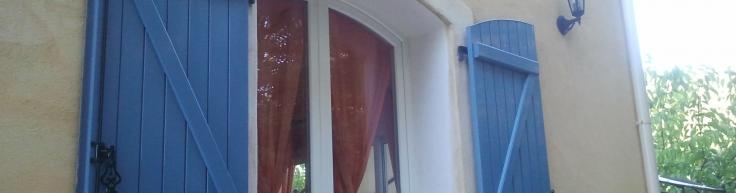 Fenêtre Pvc Et Volet Battant Alu Cintrés Marseille Technic Habitat