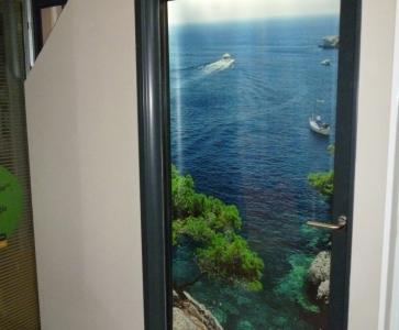 Portefenêtre Alu à Galandage ASSSC Marseille Technic Habitat - Porte fenetre a galandage